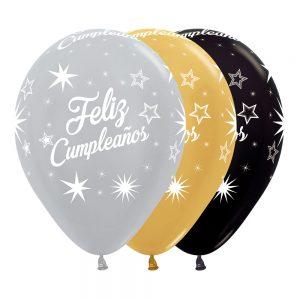 Feliz Cumpleaños Deluxe Destellos
