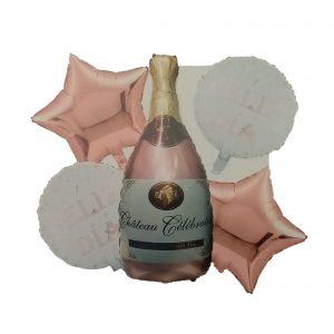 Champagne Rosa; Feliz Día