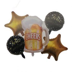 Cerveza: F/C Dorado Y Negro