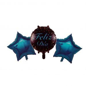 Feliz Día; Estrellas Azules